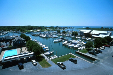 Our Tilghman Island location offers perfect access to the Bay and its tributaries for quick fishing trips or longer cruises.